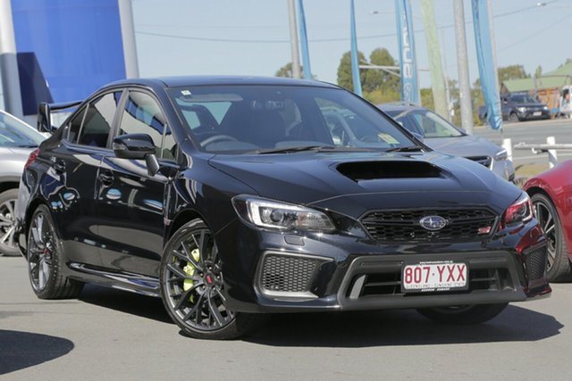 Demo Subaru WRX V1 MY18 STI AWD Premium, 2018 Subaru WRX V1 MY18 STI AWD Premium Crystal Black Silica 6 Speed Manual Sedan