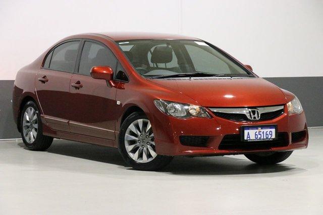 Used Honda Civic MY10 VTi-L, 2010 Honda Civic MY10 VTi-L Red 5 Speed Automatic Sedan