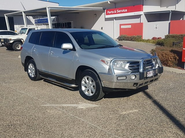 Used Toyota Kluger GSU40R MY11 Upgrade KX-R (FWD) 5 Seat, 2011 Toyota Kluger GSU40R MY11 Upgrade KX-R (FWD) 5 Seat Silver Pearl 5 Speed Automatic Wagon