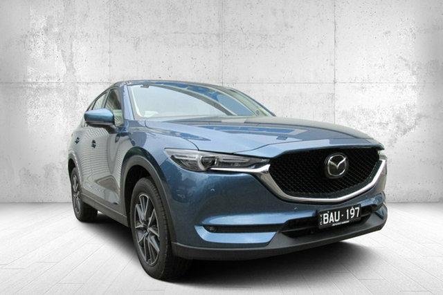 Demo Mazda CX-5 GT GT SKYACTIV-Drive i-ACTIV AWD, 2019 Mazda CX-5 GT GT SKYACTIV-Drive i-ACTIV AWD Blue 6 Speed Automatic Wagon