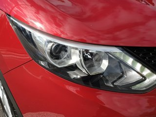 2014 Nissan Qashqai J11 ST Red 1 Speed Constant Variable Wagon