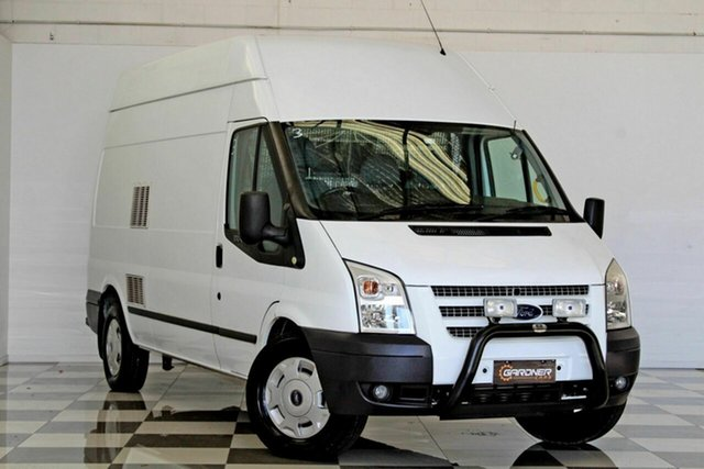 Used Ford Transit VM MY12 Update High (LWB), 2013 Ford Transit VM MY12 Update High (LWB) White 6 Speed Manual Van