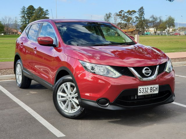 Used Nissan Qashqai J11 ST, 2014 Nissan Qashqai J11 ST Red 1 Speed Constant Variable Wagon