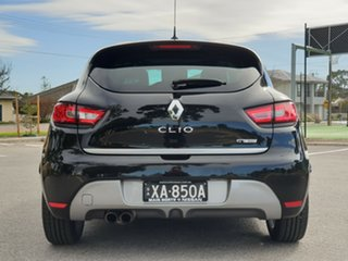 2014 Renault Clio IV B98 GT EDC Black 6 Speed Sports Automatic Dual Clutch Hatchback.