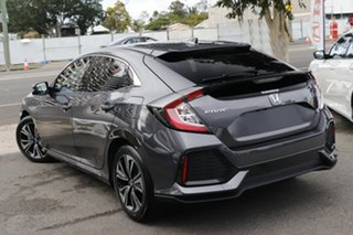 2019 Honda Civic 10th Gen MY19 VTi-LX Modern Steel 1 Speed Constant Variable Hatchback.