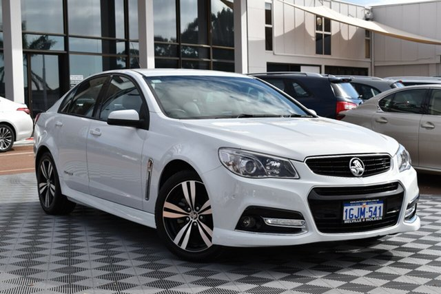 Used Holden Commodore VF MY15 SV6 Storm, 2015 Holden Commodore VF MY15 SV6 Storm White 6 Speed Sports Automatic Sedan