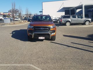 2016 Ford Ranger PX MkII MY17 Wildtrak 3.2 (4x4) Orange 6 Speed Automatic Dual Cab Pick-up