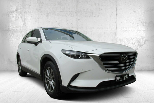 Demo Mazda CX-9 TC Touring SKYACTIV-Drive, 2019 Mazda CX-9 TC Touring SKYACTIV-Drive White 6 Speed Sports Automatic Wagon