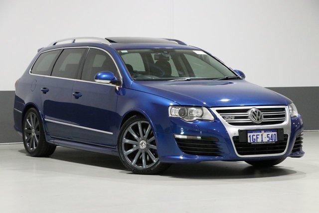 Used Volkswagen Passat 3C MY09 Upgrade R36, 2009 Volkswagen Passat 3C MY09 Upgrade R36 Blue 6 Speed Direct Shift Wagon