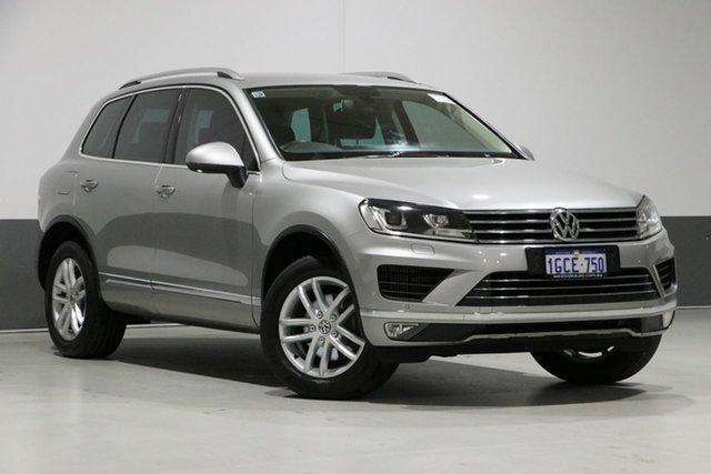 Used Volkswagen Touareg 7P MY16 150 TDI Element, 2016 Volkswagen Touareg 7P MY16 150 TDI Element Silver 8 Speed Automatic Wagon