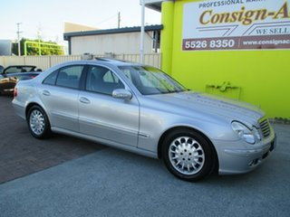 2004 Mercedes-Benz E320 W211 Elegance Silver 5 Speed Sports Automatic Sedan.
