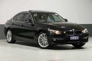 2014 BMW 320d F30 MY14 Luxury Line Black Sapphire 8 Speed Automatic Sedan.