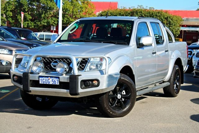 Used Nissan Navara D40 S6 MY12 ST, 2013 Nissan Navara D40 S6 MY12 ST Silver 6 Speed Manual Utility