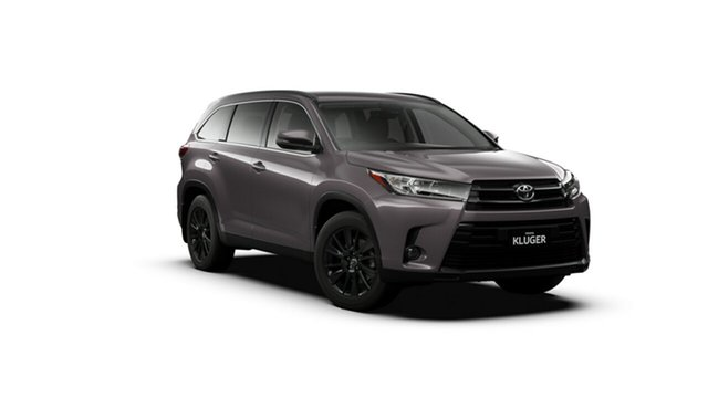 New Toyota Kluger GSU50R Black Edition 2WD Oakleigh, 2019 Toyota Kluger GSU50R Black Edition 2WD Predawn Grey 8 Speed Sports Automatic Wagon