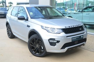 2018 Land Rover Discovery Sport L550 HSE Indus Silver 9 Speed Automatic SUV.