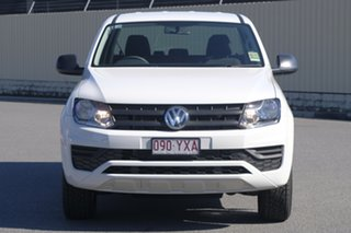 2018 Volkswagen Amarok 2H MY19 TDI400 4MOT Core Candy White 6 Speed Manual Utility