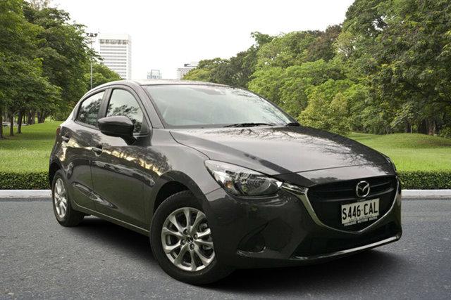 Demo Mazda 2 DJ2HAA Maxx SKYACTIV-Drive, 2019 Mazda 2 DJ2HAA Maxx SKYACTIV-Drive Machine Grey 6 Speed Sports Automatic Hatchback
