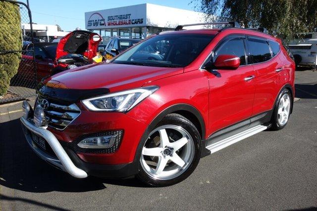 Used Hyundai Santa Fe DM MY14 Elite, 2013 Hyundai Santa Fe DM MY14 Elite Red 6 Speed Sports Automatic Wagon