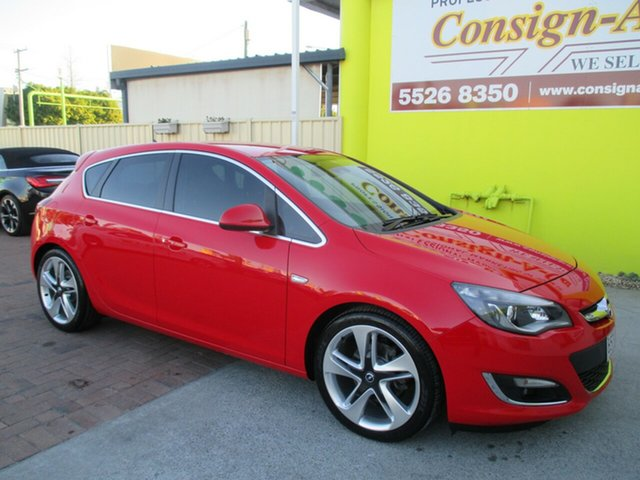 Used Opel Astra AS Sport, 2012 Opel Astra AS Sport Red 6 Speed Manual Hatchback