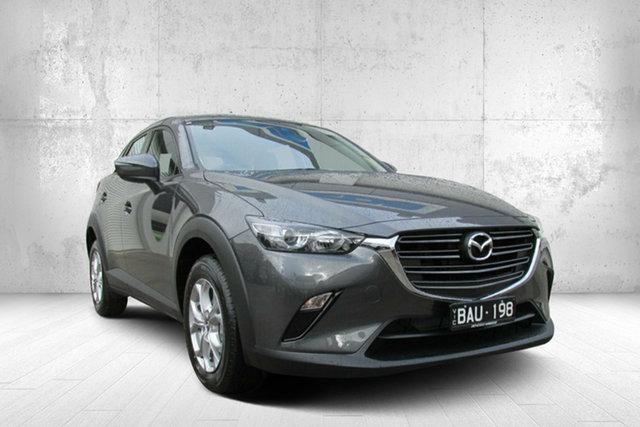 Demo Mazda CX-3 DK2W7A Maxx SKYACTIV-Drive FWD Sport, 2019 Mazda CX-3 DK2W7A Maxx SKYACTIV-Drive FWD Sport Grey 6 Speed Sports Automatic Wagon
