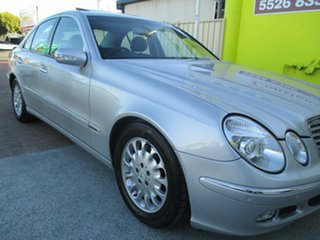 2004 Mercedes-Benz E320 W211 Elegance Silver 5 Speed Sports Automatic Sedan