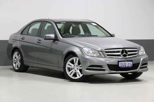 Used Mercedes-Benz C200 W204 MY12 Elegance BE, 2012 Mercedes-Benz C200 W204 MY12 Elegance BE Grey 7 Speed Automatic G-Tronic Sedan