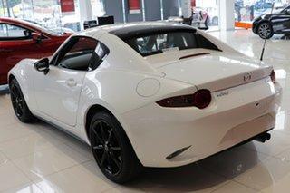 2021 Mazda MX-5 ND RF SKYACTIV-Drive White Pearl 6 Speed Sports Automatic Targa.