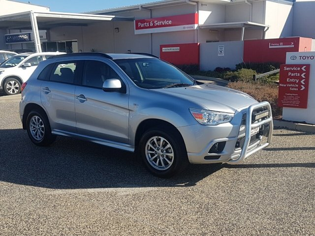 Used Mitsubishi ASX XA (2WD), 2010 Mitsubishi ASX XA (2WD) Silver Continuous Variable Wagon