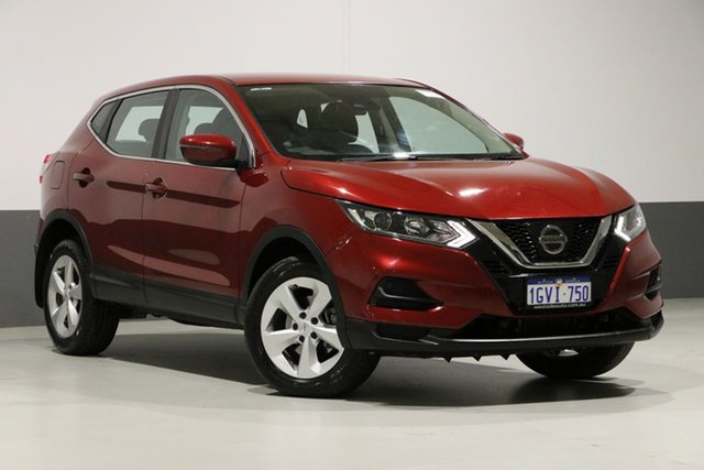 Used Nissan Qashqai J11 MY18 ST, 2018 Nissan Qashqai J11 MY18 ST Red Continuous Variable Wagon
