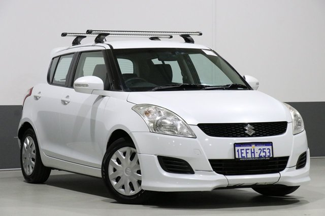 Used Suzuki Swift FZ GL, 2012 Suzuki Swift FZ GL White 5 Speed Manual Hatchback