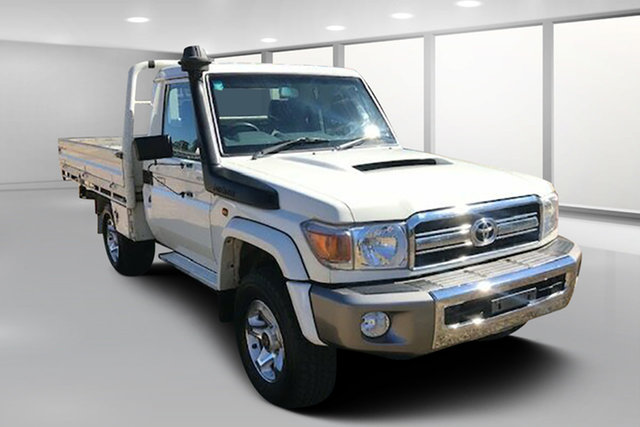 Used Toyota Landcruiser VDJ79R MY12 Update GXL (4x4), 2016 Toyota Landcruiser VDJ79R MY12 Update GXL (4x4) French Vanilla 5 Speed Manual Cab Chassis