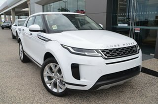2019 Land Rover Range Rover Evoque L551 MY20 D180 SE Fuji White 9 Speed Sports Automatic Wagon