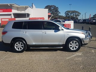 2011 Toyota Kluger GSU40R MY11 Upgrade KX-R (FWD) 5 Seat Silver Pearl 5 Speed Automatic Wagon.