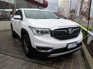 2018 Holden Acadia AC MY19 LTZ 2WD Summit White 9 Speed Sports Automatic Wagon.
