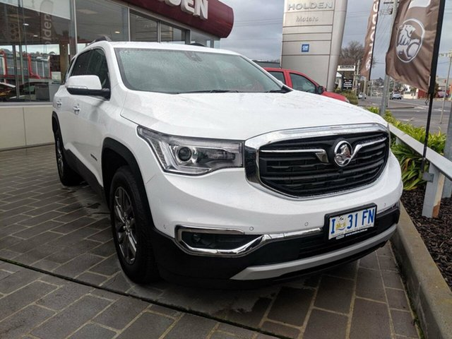 Demo Holden Acadia AC MY19 LTZ 2WD, 2018 Holden Acadia AC MY19 LTZ 2WD Summit White 9 Speed Sports Automatic Wagon