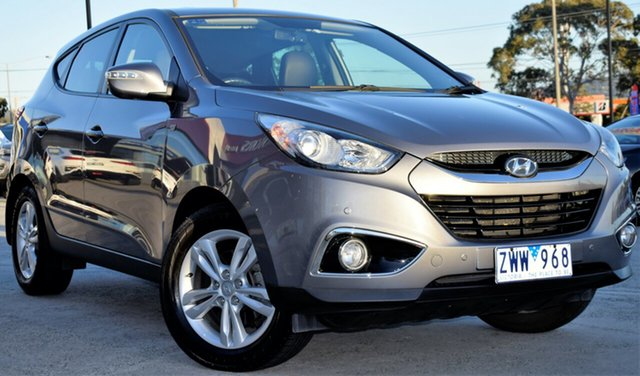 Used Hyundai ix35 LM2 SE, 2013 Hyundai ix35 LM2 SE Steel Grey 6 Speed Sports Automatic Wagon