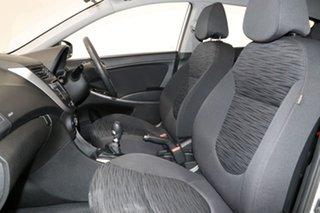 2017 Hyundai Accent RB4 MY17 Active Silver 6 Speed Manual Sedan