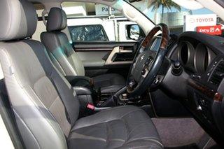2011 Toyota Landcruiser VDJ200R MY10 Sahara Crystal Pearl 6 Speed Sports Automatic Wagon