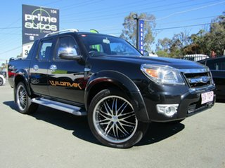 2011 Ford Ranger PK Wildtrak (4x4) Black 5 Speed Automatic Dual Cab Pick-up.