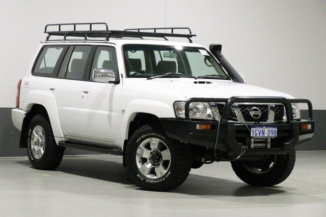 Used Nissan Patrol GU IV ST (4x4), 2005 Nissan Patrol GU IV ST (4x4) White 5 Speed Manual Wagon