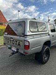 2004 Toyota Hilux KZN165R MY04 Grey 5 Speed Manual Dual Cab