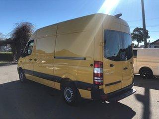 2014 Mercedes-Benz Sprinter 906 MY14 313 CDI MWB Yellow 6 Speed Manual Van.