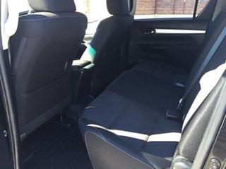 2015 Toyota Hilux GUN126R SR5 (4x4) Eclipse Black 6 Speed Automatic Dual Cab Utility