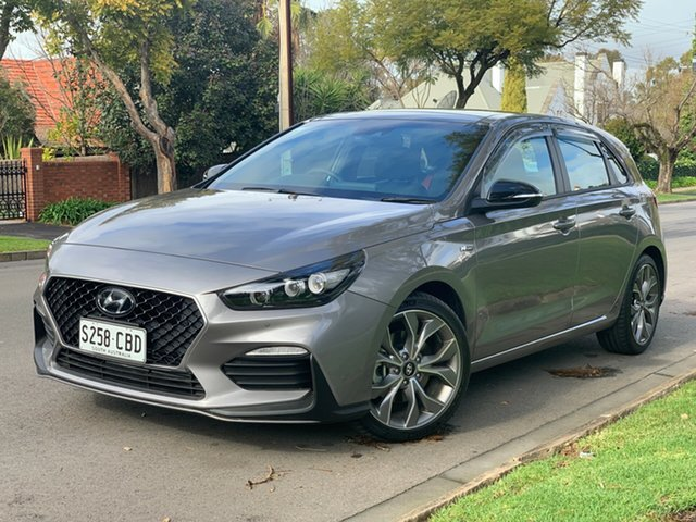 Demo Hyundai i30 PD.3 MY19 N Line D-CT Premium, 2019 Hyundai i30 PD.3 MY19 N Line D-CT Premium Fluidic Metal 7 Speed Sports Automatic Dual Clutch