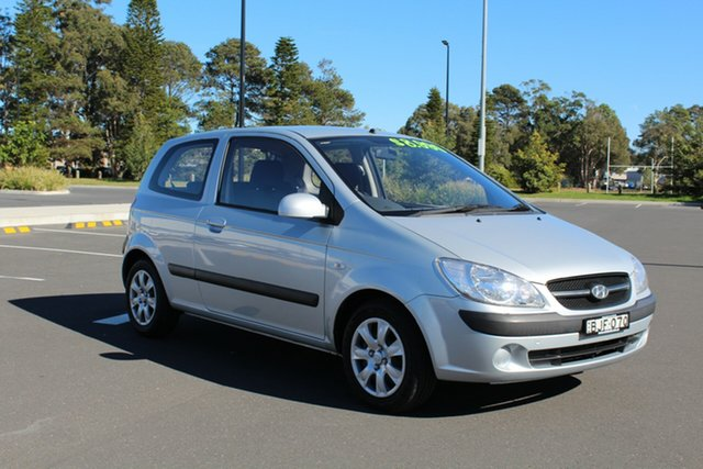 Used Hyundai Getz TB MY09 S, 2008 Hyundai Getz TB MY09 S Space Silver 4 Speed Automatic Hatchback