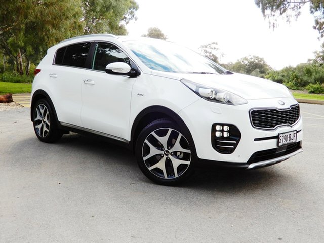 Used Kia Sportage QL MY16 Platinum AWD, 2016 Kia Sportage QL MY16 Platinum AWD White 6 Speed Sports Automatic Wagon