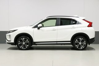 2018 Mitsubishi Eclipse Cross YA MY18 LS (2WD) White Solid Continuous Variable Wagon