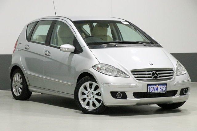 Used Mercedes-Benz A200 W169 Elegance, 2005 Mercedes-Benz A200 W169 Elegance Silver 5 Speed Manual Hatchback