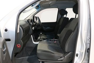 2012 Nissan Navara D40 ST (4x4) Silver 6 Speed Manual Dual Cab Pick-up