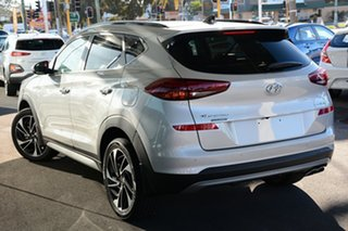2020 Hyundai Tucson TL3 MY20 Highlander AWD Platinum Silver 8 Speed Sports Automatic Wagon.